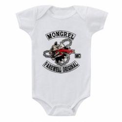 Дитячий бодік Mongrel MC