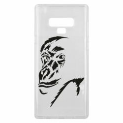 Чехол для Samsung Note 9 Monkey face features