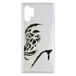 Чехол для Samsung Note 10 Plus Monkey face features