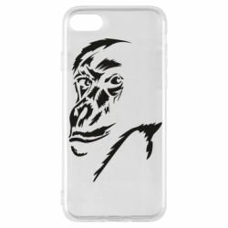 Чехол для iPhone 7 Monkey face features