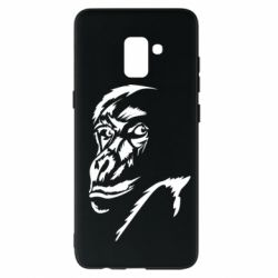 Чехол для Samsung A8+ 2018 Monkey face features
