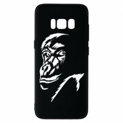 Чехол для Samsung S8 Monkey face features
