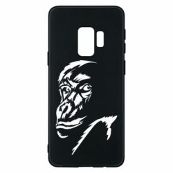 Чехол для Samsung S9 Monkey face features