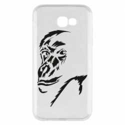 Чехол для Samsung A7 2017 Monkey face features