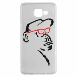 Чохол для Samsung A5 2016 Monkey in red glasses