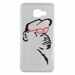 Чохол для Samsung A7 2016 Monkey in red glasses