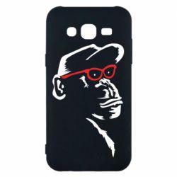 Чохол для Samsung J5 2015 Monkey in red glasses