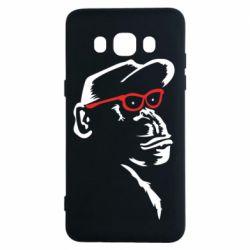 Чохол для Samsung J5 2016 Monkey in red glasses