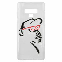Чохол для Samsung Note 9 Monkey in red glasses