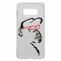 Чохол для Samsung S10e Monkey in red glasses