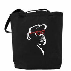 Сумка Monkey in red glasses