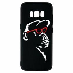 Чохол для Samsung S8 Monkey in red glasses