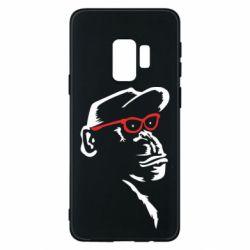 Чохол для Samsung S9 Monkey in red glasses
