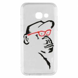 Чохол для Samsung A3 2017 Monkey in red glasses
