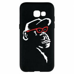 Чохол для Samsung A5 2017 Monkey in red glasses