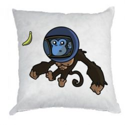 Подушка Monkey in space