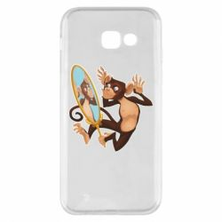 Чохол для Samsung A5 2017 Monkey playing with a mirror