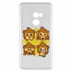 Чехол для Xiaomi Mi Mix 2 Monkey See Hear Talk