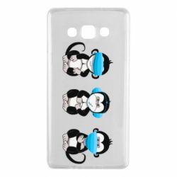 Чохол для Samsung A7 2015 Monkeys in medical masks