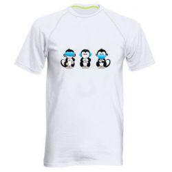 Чоловіча спортивна футболка Monkeys in medical masks