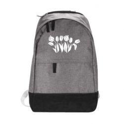 Рюкзак міський Monochrome tulips