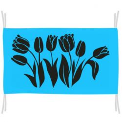 Прапор Monochrome tulips