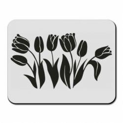 Килимок для миші Monochrome tulips