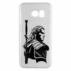 Чехол для Samsung S6 EDGE Monochrome witcher
