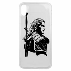Чехол для iPhone Xs Max Monochrome witcher