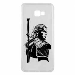 Чехол для Samsung J4 Plus 2018 Monochrome witcher