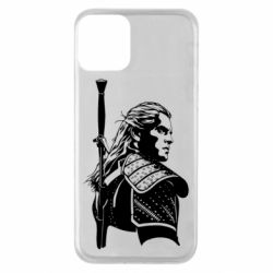 Чехол для iPhone 11 Monochrome witcher
