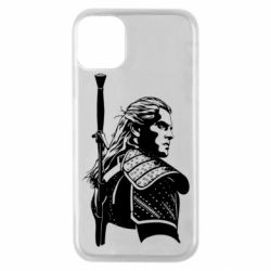 Чехол для iPhone 11 Pro Monochrome witcher