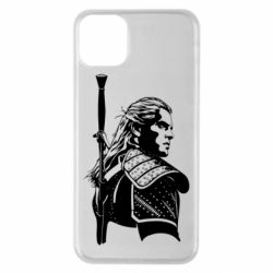 Чехол для iPhone 11 Pro Max Monochrome witcher