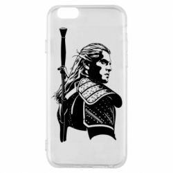 Чехол для iPhone 6/6S Monochrome witcher