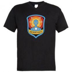 Чоловіча футболка з V-подібним вирізом Monolith