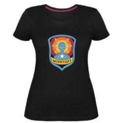 Жіноча стрейчева футболка Monolith