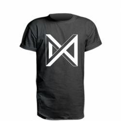 Подовжена футболка Monsta x simbol