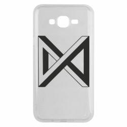 Чохол для Samsung J7 2015 Monsta x simbol