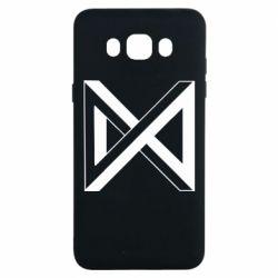 Чохол для Samsung J7 2016 Monsta x simbol