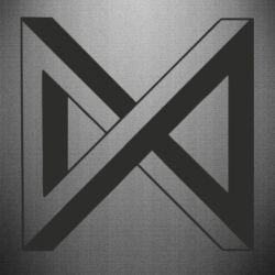 Наклейка Monsta x simbol