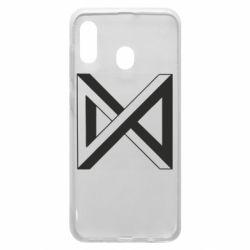 Чохол для Samsung A30 Monsta x simbol