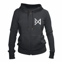 Жіноча толстовка на блискавці Monsta x simbol