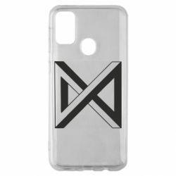 Чохол для Samsung M30s Monsta x simbol