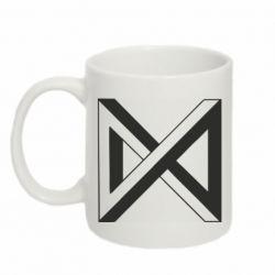 Кружка 320ml Monsta x simbol