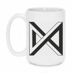Кружка 420ml Monsta x simbol