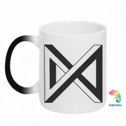 Кружка-хамелеон Monsta x simbol