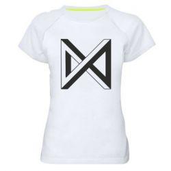 Жіноча спортивна футболка Monsta x simbol