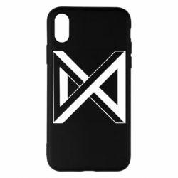 Чохол для iPhone X/Xs Monsta x simbol