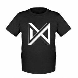 Дитяча футболка Monsta x simbol