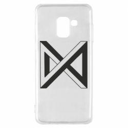 Чохол для Samsung A8 2018 Monsta x simbol
